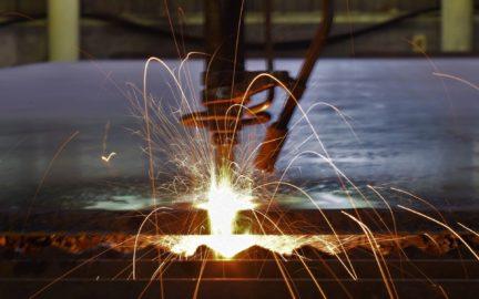 厚鋼鈑加工